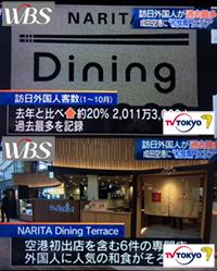 テレビ東京「ワールドビジネスサテライト」にてご紹介頂きました。